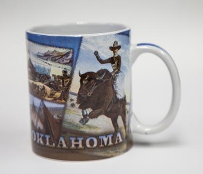 Vintage Images Oklahoma Coffee Mug Chisholm Trail Heritage Center