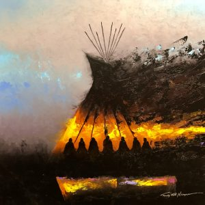 Art by Timothy Tate Nevaquaya