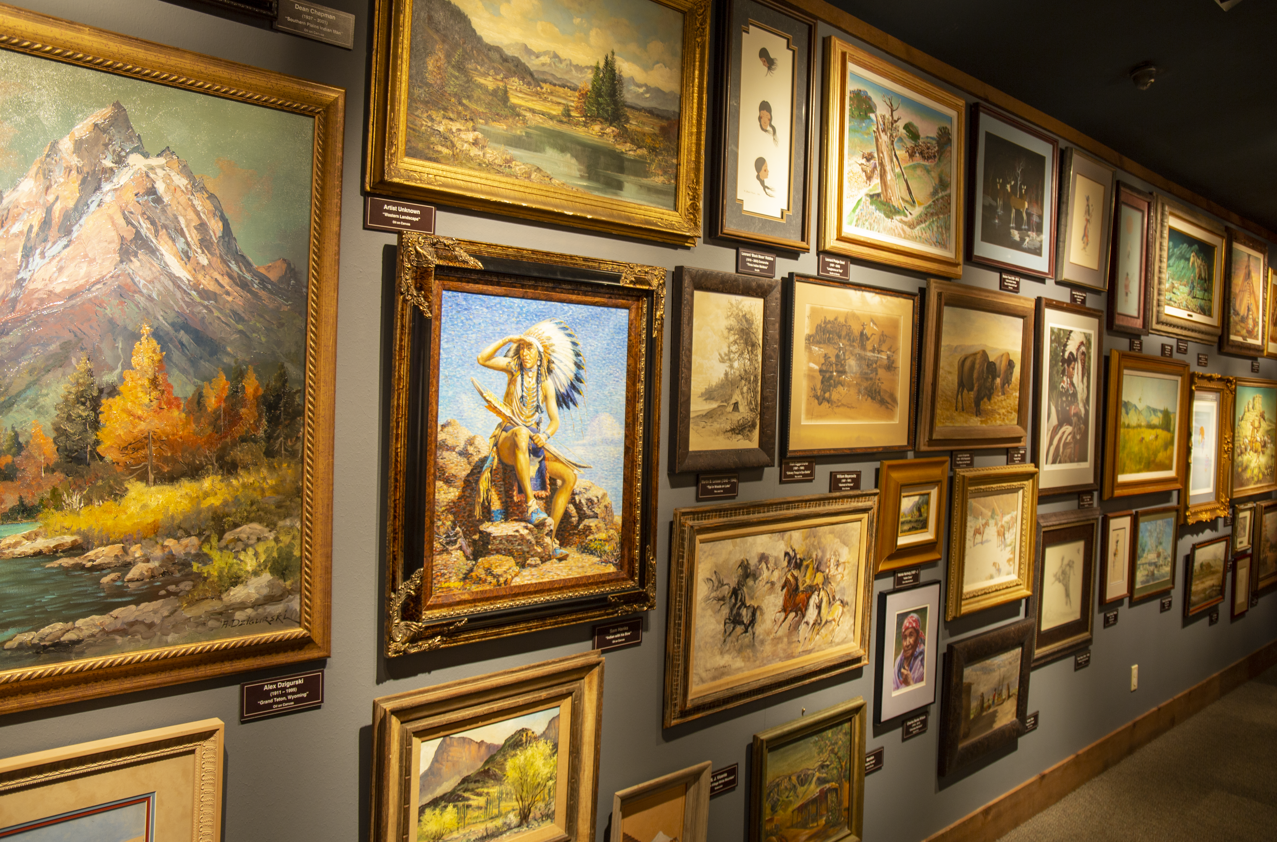 Foundations of art on display at the Chisholm Trail Heritage Center