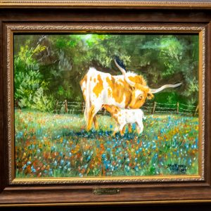Oil Painting by Skip Rowell