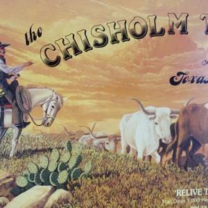 Chisholm Trail Boardgame