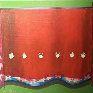 Giclee print of Native American blanket by Joe Don Brave