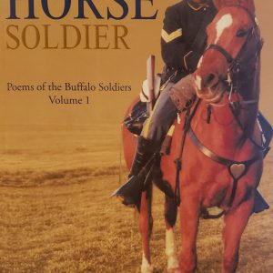 Ebony Horse Soldier signed paperback book by Wallace Moore Sr.